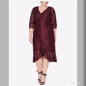 NWT Rachel Roy Women's Lace Sheath Dress RR165